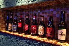 世界のビールがずらり