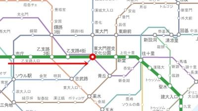 東大門歴史文化公園駅2号線_左側.jpg
