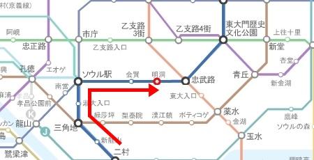 4호선, 노선도, 1-1.jpg